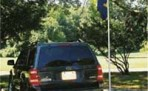 Tailgating Flagpole